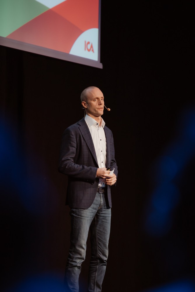 Daniel Ågren, Director Data & Analytics Technology at ICA Gruppen