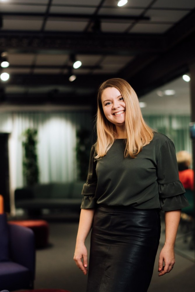 Iiris Lahti, former Development Director – Data Utilization at Sanoma Media Finland, currently Founding partner of AI Roots