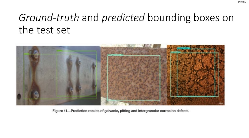 PDF presentation of Matias Ferrero from the Maintenance Analytics Summit 2019 including images with corrosion