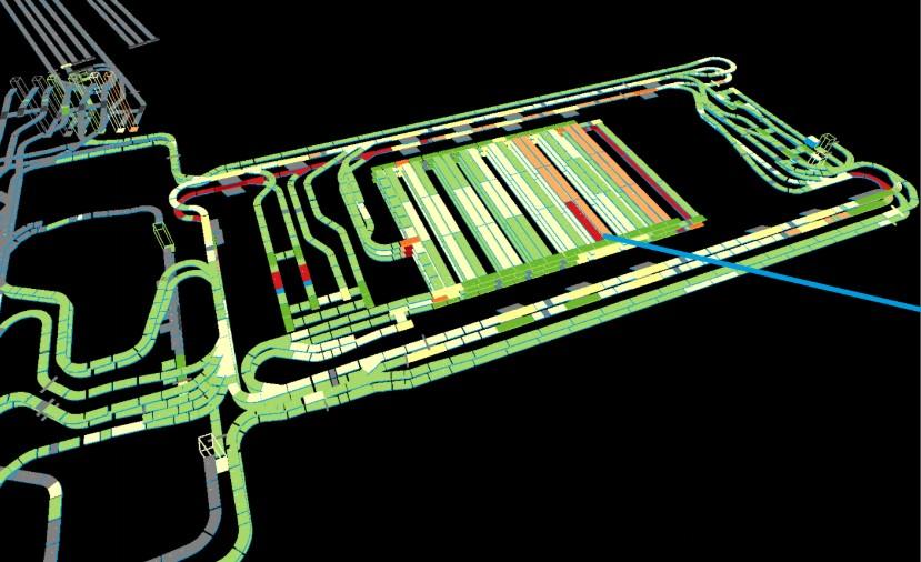 digital twin of baggage handling systems