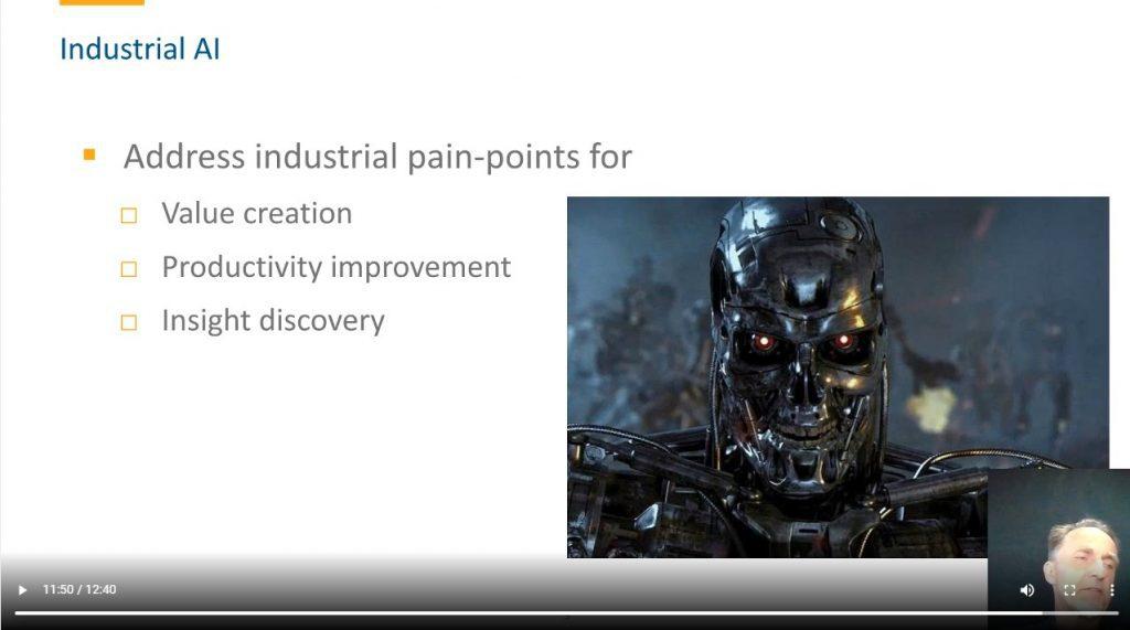 Kai Goebel's presentation at the Maintenance Analytics Summit 2020