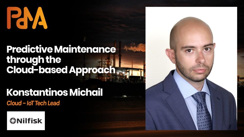 Konstantinos Michail, IoT – Cloud Tech Lead at Nilfisk