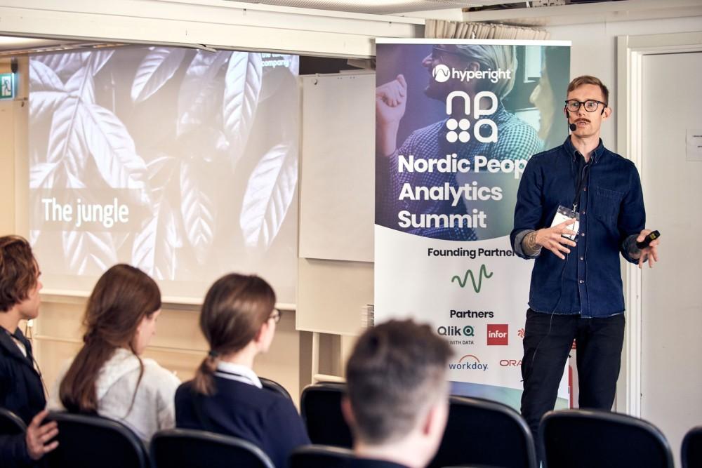 Henrik Sandén, People & HR Analyst at The Talent Company