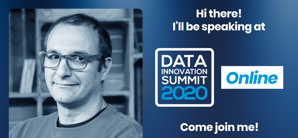 Fabrizio Silvestri speaking at the Data Innovation Summit, Join the Tech Giants at the DIS 2020: Facebook, Google, LinkedIn, Twitter