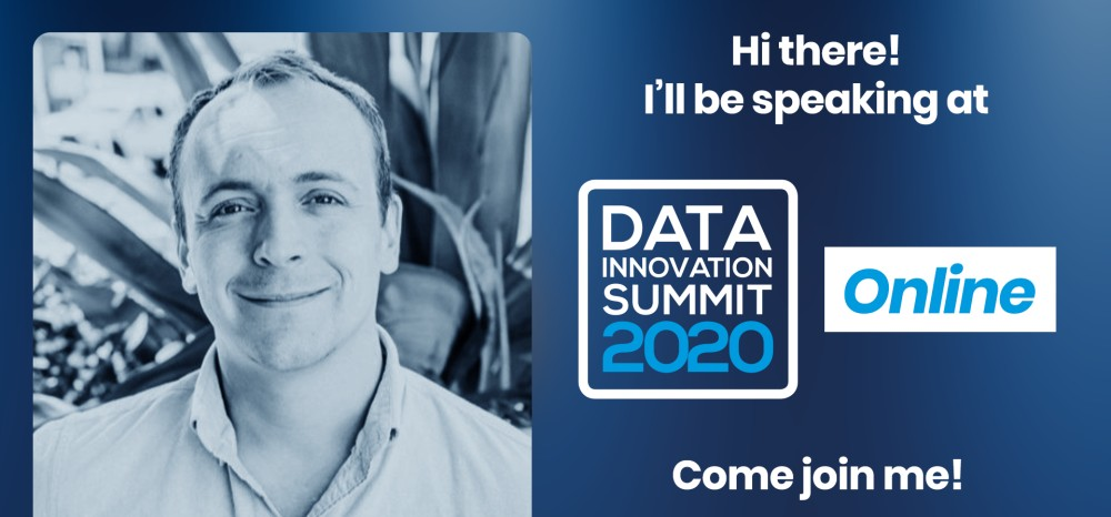 Peter Grabowski speaking at the Data Innovation Summit; Join the Tech Giants at the DIS 2020: Facebook, Google, LinkedIn, Twitter