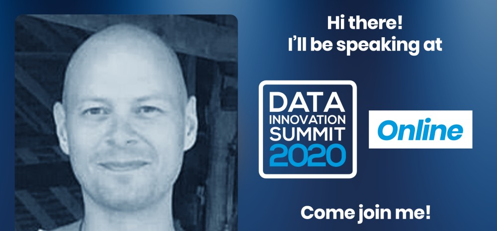 Rich Dutton speaking at the Data Innovation Summit; Join the Tech Giants at the DIS 2020: Facebook, Google, LinkedIn, Twitter
