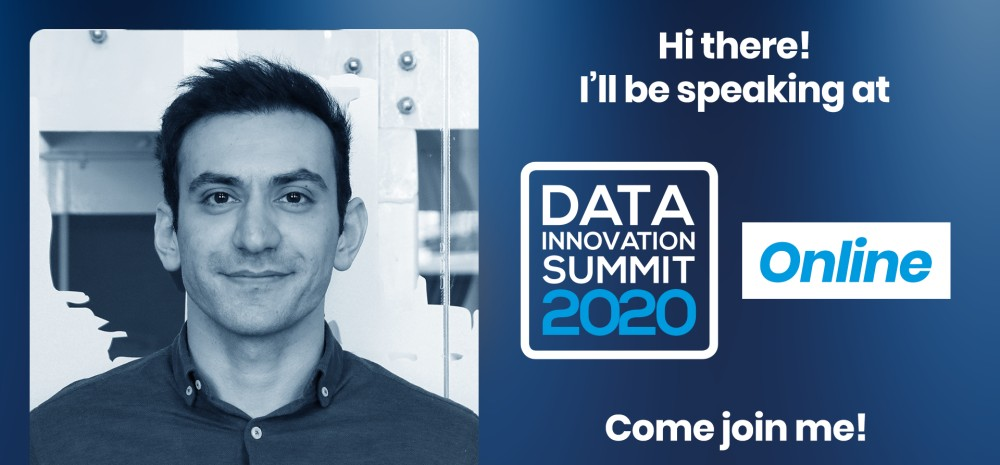 Ahmad Azadvar, User Research Project Manager at Massive Entertainment, a Ubisoft Studio at the Data Innovation Summit