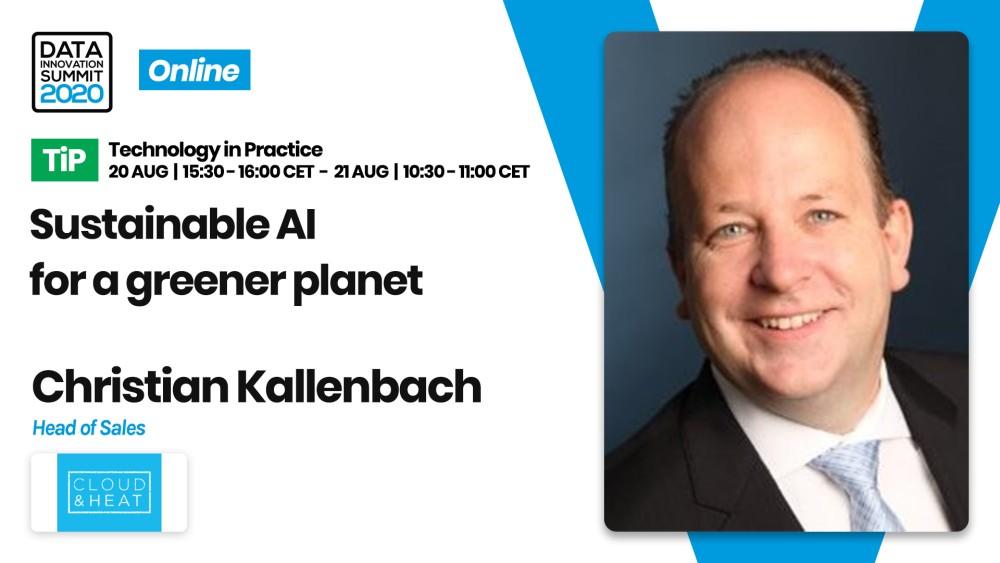 Christian Kallenbach, Head of Sales - Datacenter Infrastructures at Cloud&Heat Technologies