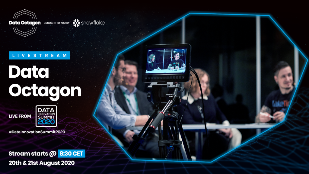 Data Octagon live-streamed programme at the Data Innovation Summit 2020