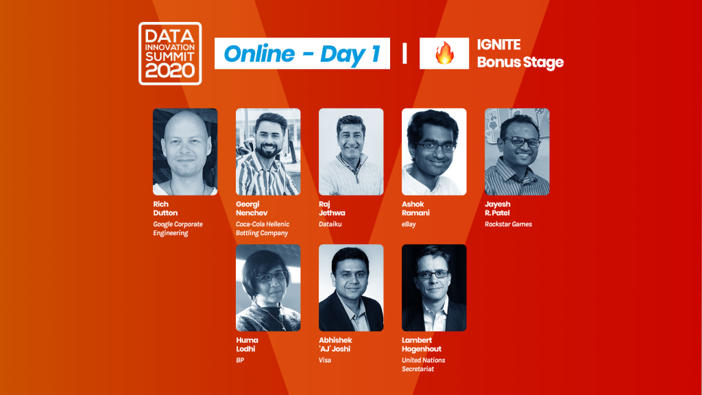 The highlights of the first Data Innovation Summit Conference day: LEGO, Uber, Facebook, Google, Netflix, eBay, Coca Cola and more