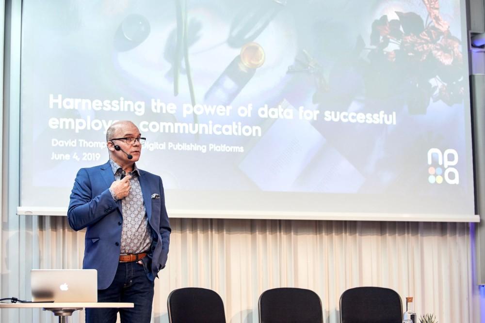 David Thompson, Director of Digital Publishing & Platforms at Electrolux
