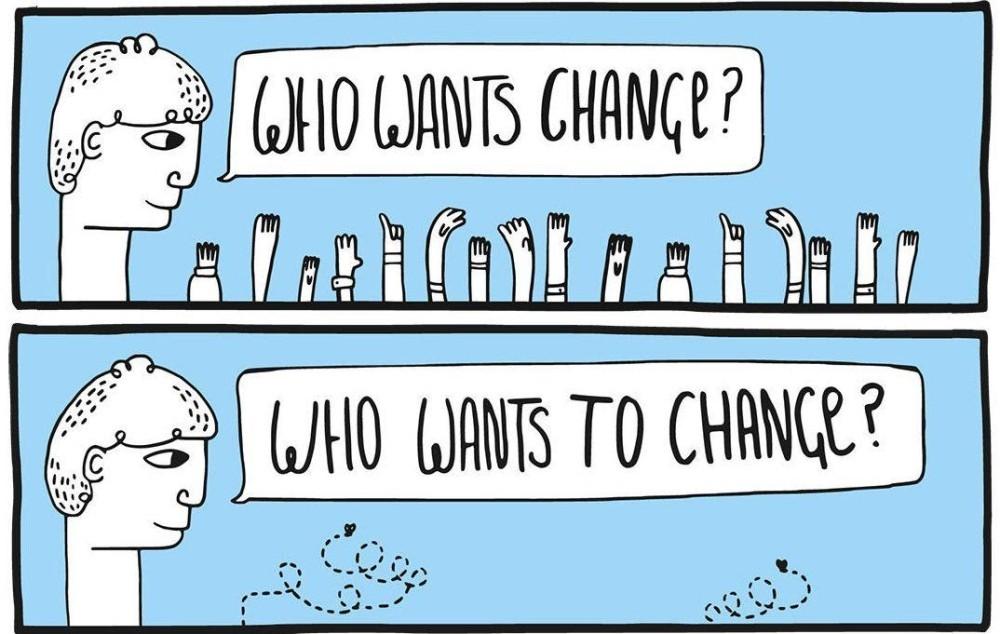 Who wants a change?
