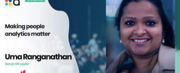 Making people analytics matter - Uma Ranganathan, Equinor
