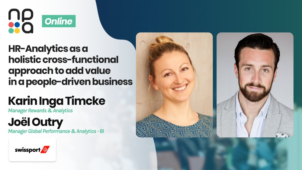 Karin Inga Timcke, Manager Rewards & Analytics & Joël Outry, Manager Global Performance & Analytics, Business Intelligence at Swissport International