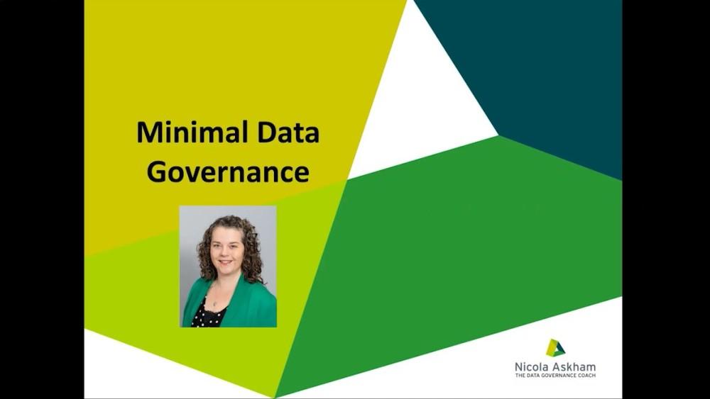 Nicola Askham presenting at the Data Innovation Summit 2020