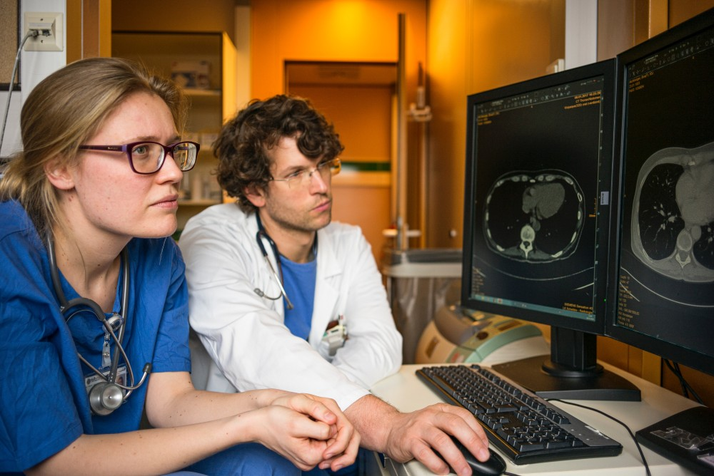 AI-powered radiology in healthcare