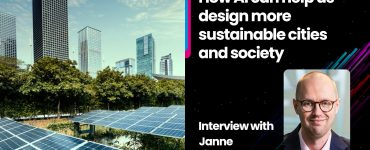 How AI can help us design more sustainable cities and society: Interview with Janne Liuttu