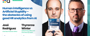 Human intelligence vs Artificial Stupidity – the obstacles of using good HR analytics from AI - José Rodriguez & Thyronne Winter, Cornerstone OnDemand