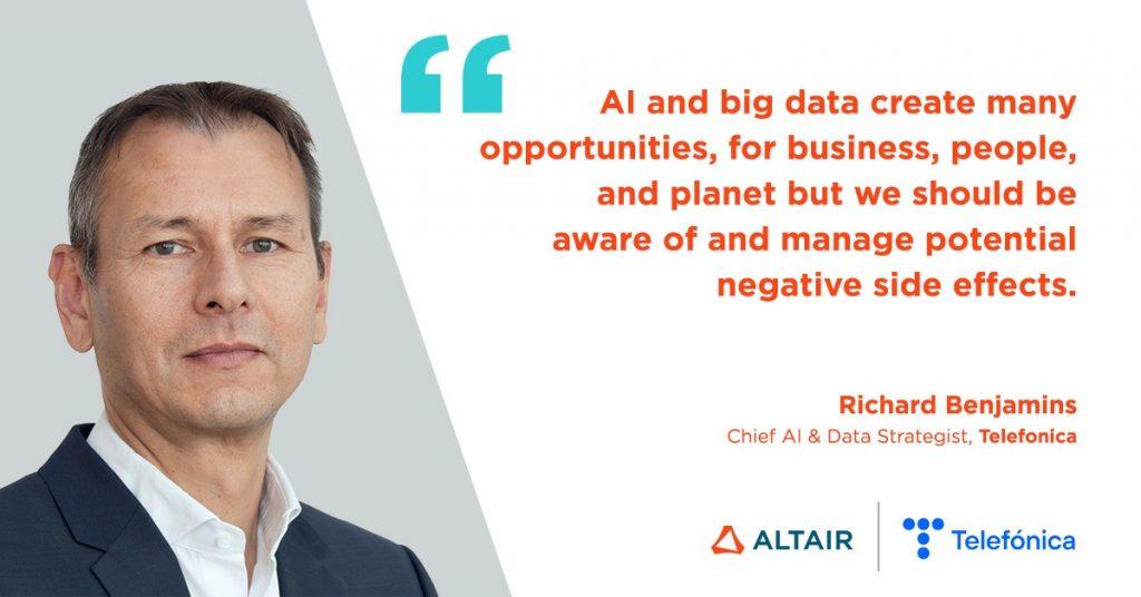 Dr. Richard Benjamins, Chief AI & Data Strategist at Telefonica.